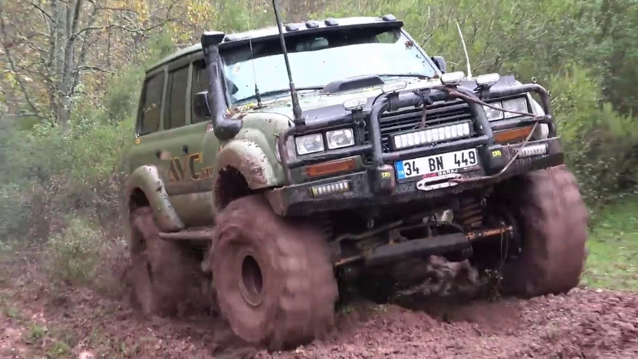 Toyota Land Cruiser HDJ 80 - TOSUN  **EXTREME OFF ROAD /Mud**