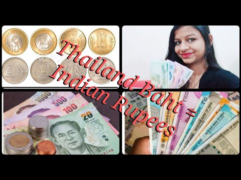 Thailand Money And Currency In Hindi || How Much Difference Thai Baht And Indian Rupees ||