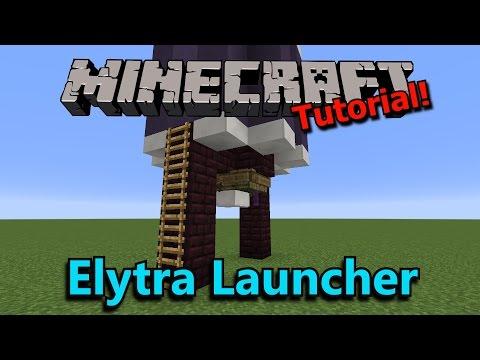 [Tutorial] Minecraft 4-Way Elytra Launcher