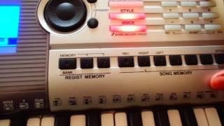 Yamaha psr i425 Split function tutorial