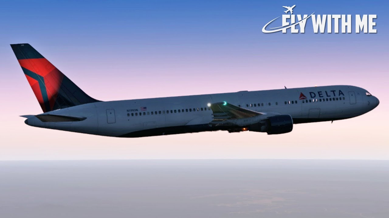 Boeing 767 to KSTL (Full Flight) | X-Plane 11 Live!