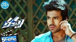 Racha movie - ajmal ameer, tamannaah, ram charan action scene