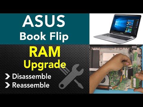 ASUS Transformer Book Flip Tp501u Ram Upgrade, STEP By STEP
