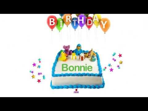 Happy birthday bonnie youtube happy birthday bonnie publicscrutiny Image collections