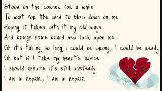 John Mayer In Repair lyrics on screen.mp3