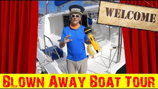 101: Tour of 2015 Leopard 44 Catamaran Blown Away; Rodney Bay Marina, St. Lucia, West Indies