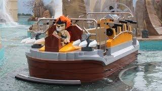 The Quest For CHI Water Ride at World of Chima, LEGOLAND Florida - FULL RIDE Multi-Angle POV