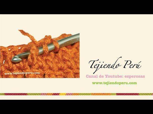 Boina de relieves a crochet – Mimitos a Crochet