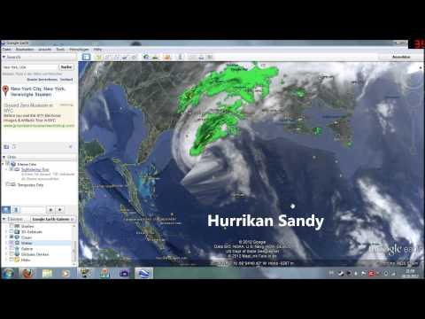 AKTUELL: HURRIKAN SANDY - Steuert auf die Ostküste der USA zu