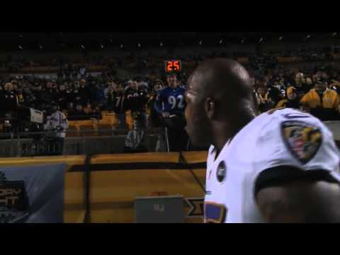 Must See Suggs Exchange With Steelers Fans