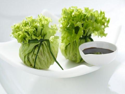 Салат из свежих овощей Белые розы