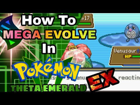How to Mega Evolve in Pokemon Theta Emerald Ex ( New Update! ) - Tom301