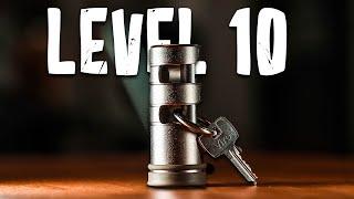 Solving The FIRESTARTER Lock Puzzle!! (Level 10)