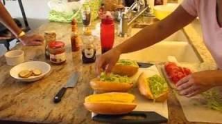 Shrimp Po-boy's New Orleans Style; Sunday With The Slingo's