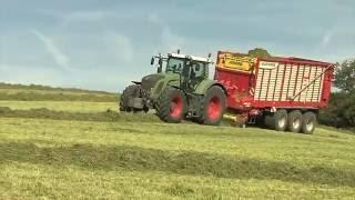 TraktorTV Folge 59 - Fendt Vario 936 mit Pöttinger Jumbo combiline 7210