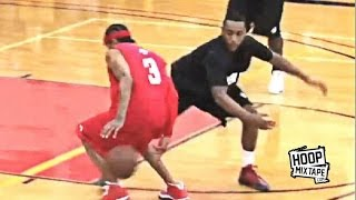 Allen Iverson Catches Jeff Teague At The Lou Williams 2011 NBA Lockout Charity Game!