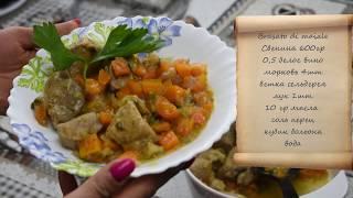 Итальянский рецепт мяса с белым вином