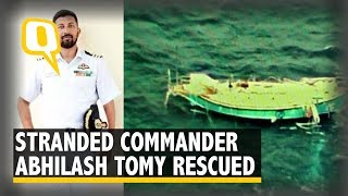 Commander Abhilash Tomy Rescued by French Vessel Osiris | The Quint