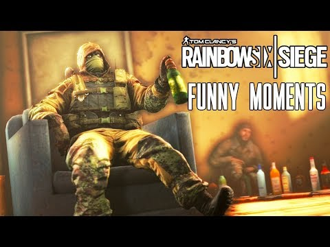 When Rainbow Six Siege Goes Russian?!?! (Funny Moments)