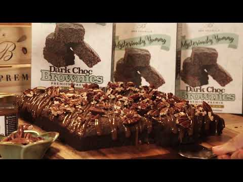 Simple Dark Choc Brownies using BBBmix Dark Choc Brownies Premix by Brown Butter Bakes (Updated)