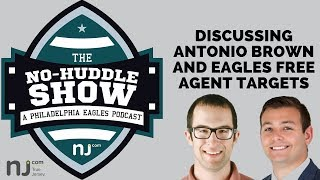 Discussing Antonio Brown and Eagles free agent targets