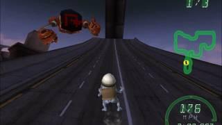 Crazy Frog Racer North City Backwards