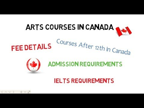 Art Courses After 12th In Canada🇨🇦 | Arts Universities & Colleges In Canada