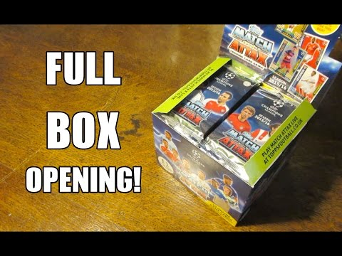 Match Attax Champions League 2015/16 BOOSTER BOX OPENING!