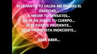 Romeo Santos Propuesta Indecente (letra) completo