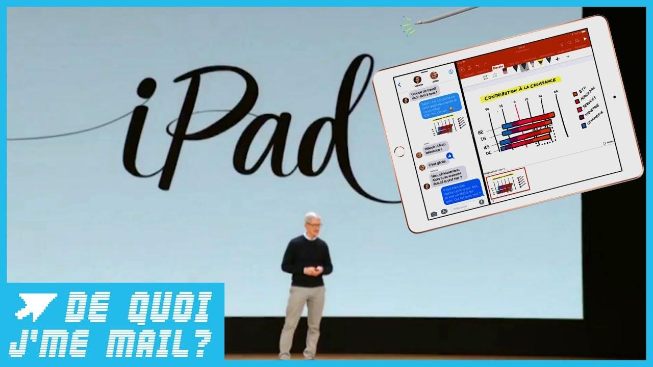 Le nouvel iPad d'Apple avec stylet mieux qu'un PC ? DQJMM (1/2)