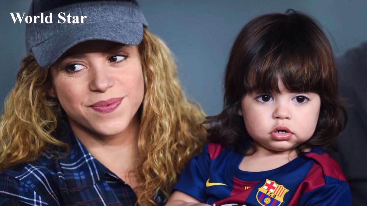 Download Shakira & Gerard Pique's Kids Milan Pique & Sasha Pique   2018 - World Star