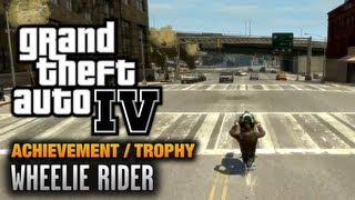 GTA 4 - Wheelie Rider Achievement / Trophy (1080p)
