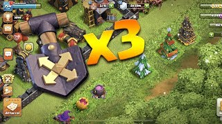TRE PALE, TRE OSTACOLI IN MENO! - Clash of clans ita
