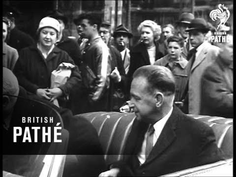 Dag Hammerskjold In New York (1958)