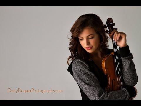 """""""Lauren's Song"""", Violin Concerto No. 1 by Benjamin Johnson (feat. Lauren Conklin)"""