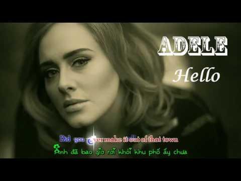 Vietsub + Kara Hello   Adele    Alice Olivia