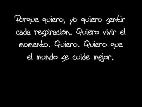 Pignoise - Quiero [LETRA]