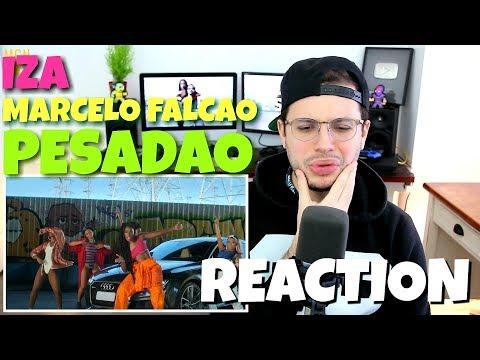 IZA - Pesadão (Participação especial Marcelo Falcão) | REACTION