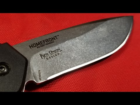 CRKT HomeFront Field Serviceable Pocket Knife Review