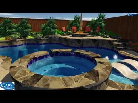 Custom Pool Design By Kevin Hernandez Of Gary Pools 2018nwb