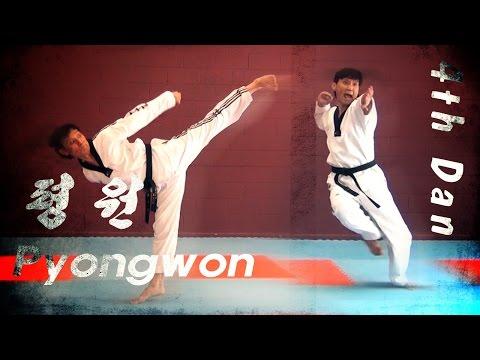 WT Taekwondo Black Belt Poomsae Pyongwon | 품새 평원 | TaekwonWoo