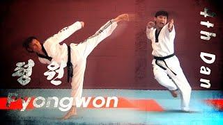 WTF Taekwondo poomsae Pyongwon 품새 평원 (taekwonwoo)
