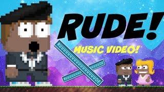 GrowTopia - Rude (music video) VOTW