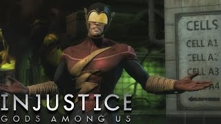 Injustice: Gods Among Us - The Flash - Classic Battles On Very Hard (No Matches Lost)