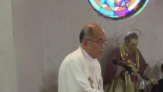 障がい者とともに捧げるミサの説教(頭島光神父)