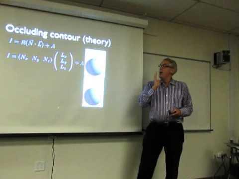 David Stork (Rambus Labs)  at Berkeley LASER