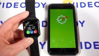 GPS часы Smart Baby Watch v7k x10 настройка и активация. Умные часы часть 2. Часы GPS детские 0+