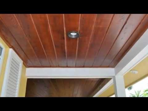 Installing Beadboard Ceiling