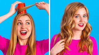SPASSIGE DIY BEAUTY-HACKS || Schlaue Hacks für Mädchen von 123 GO!