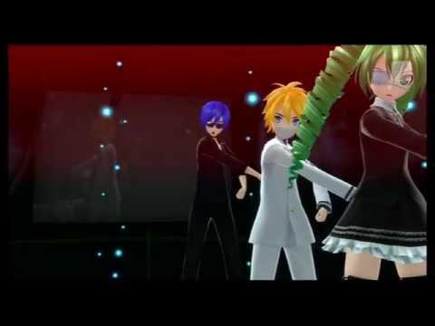 初音ミク Hatsune Miku 【秘密警察Secret Police (Game Version)】 Project DIVA F2nd EDIT PV(Miku,Len,KAITO)